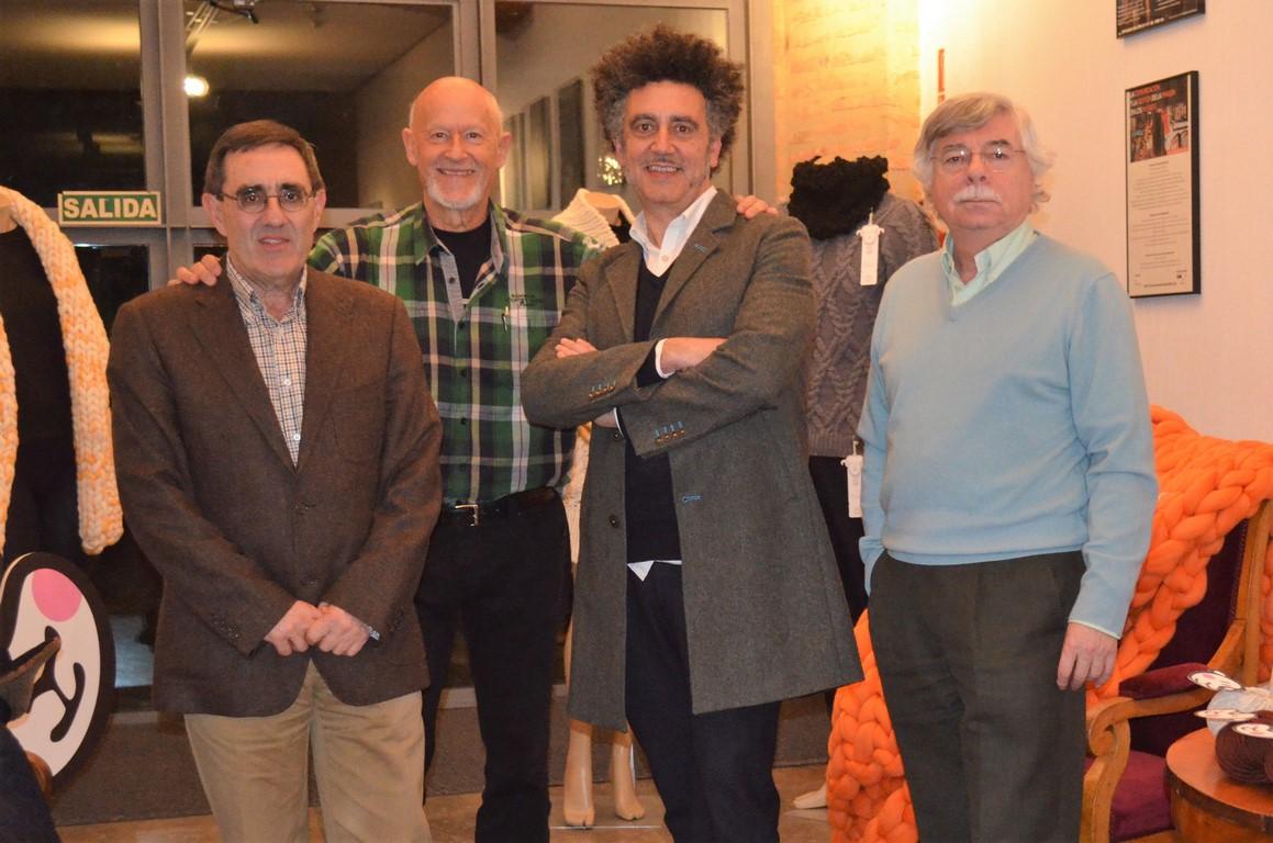 Participantes del foro sobre la lana merina trashumante en la fundacion-Made in Slow